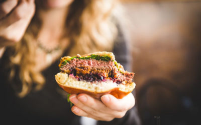 Blueberry Black Bear Burgers Recipe